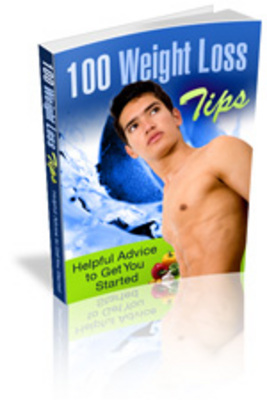 Product picture 100 weight loss tips - losing pounds