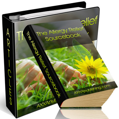 Product picture ALLERGY RELIEF SOURCE BOOK, HOW TO FIGHT ALLERGIES?